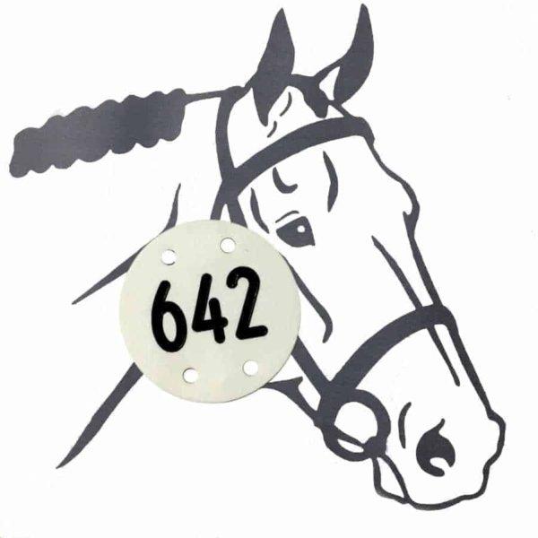 Pferdeplakette - Pferdekennzeichen Wien