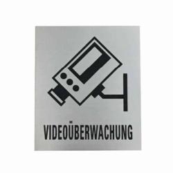 Schild.Laser .KS .Videoüberwachung.80x95