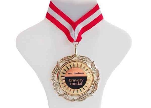 Medaillen beschriftung