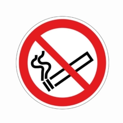Aufkleber.Rauchen verboten.02