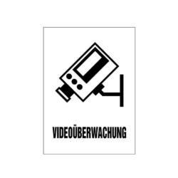 Schild.Videoueberwachung.65x90.Laserply