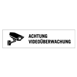 Schild.Hier wird videoueberwacht.Laserply.41V1404020